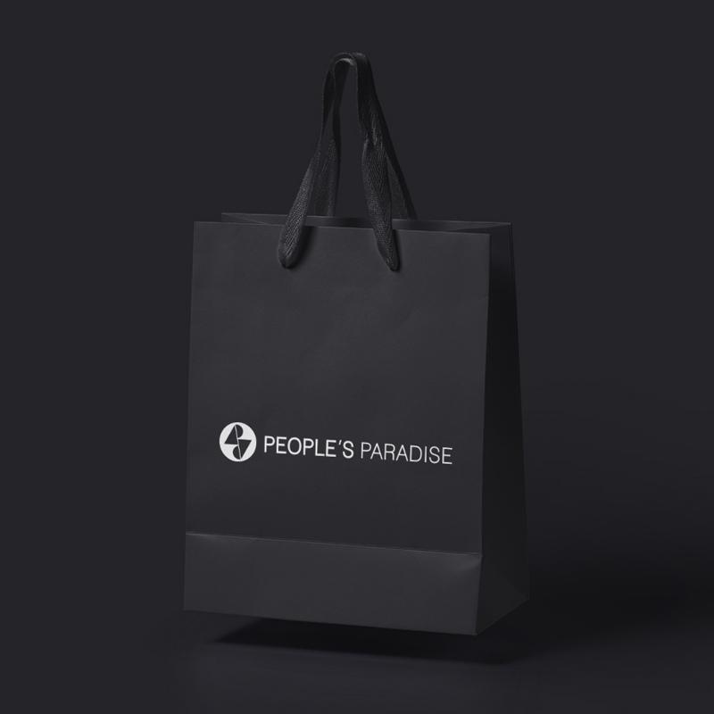 People's Paradise sac noir