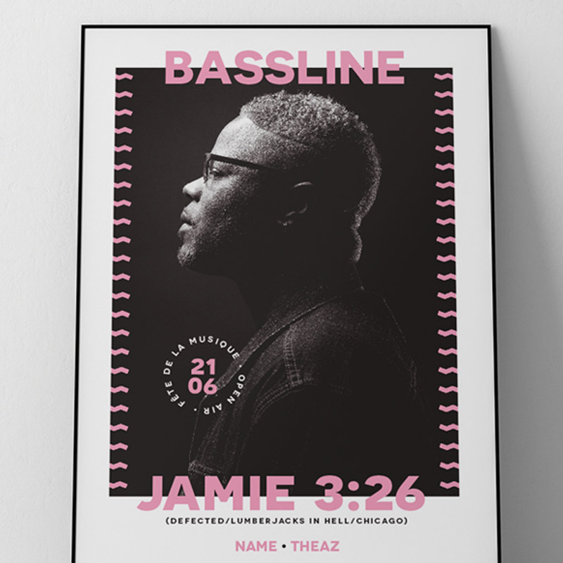 Bassline Party Affiche