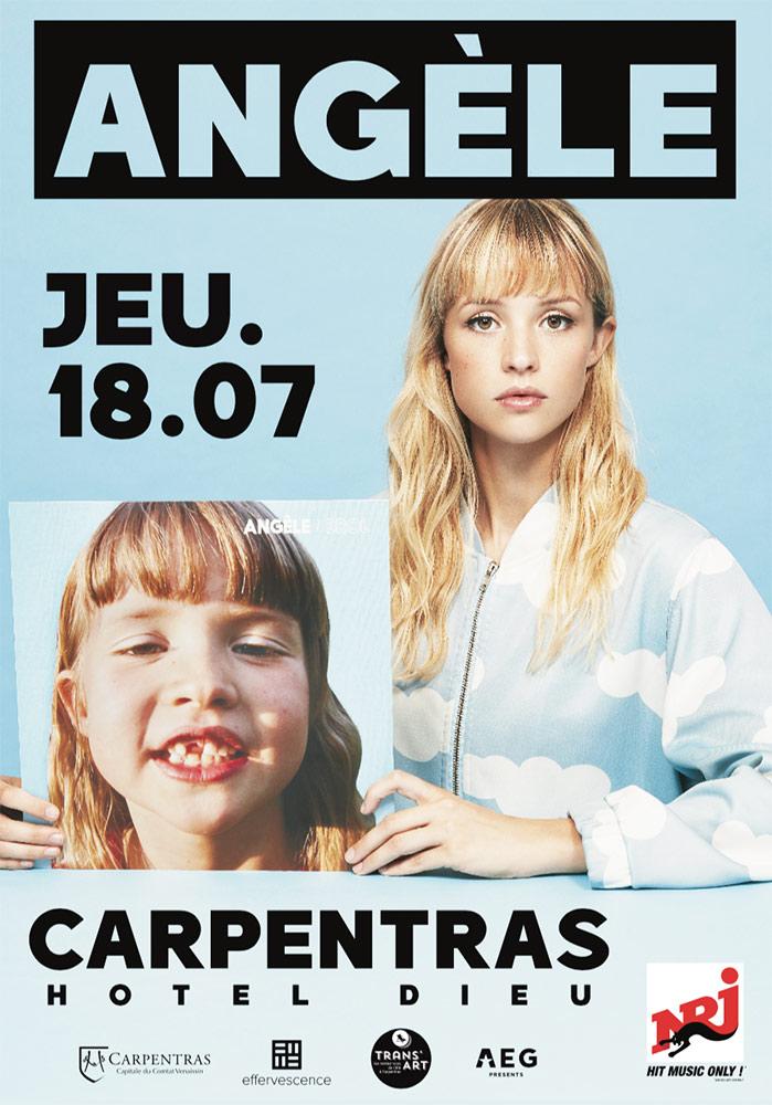 Concert Angèle Carpentras 2019 –  Agence Effervescence Avignon