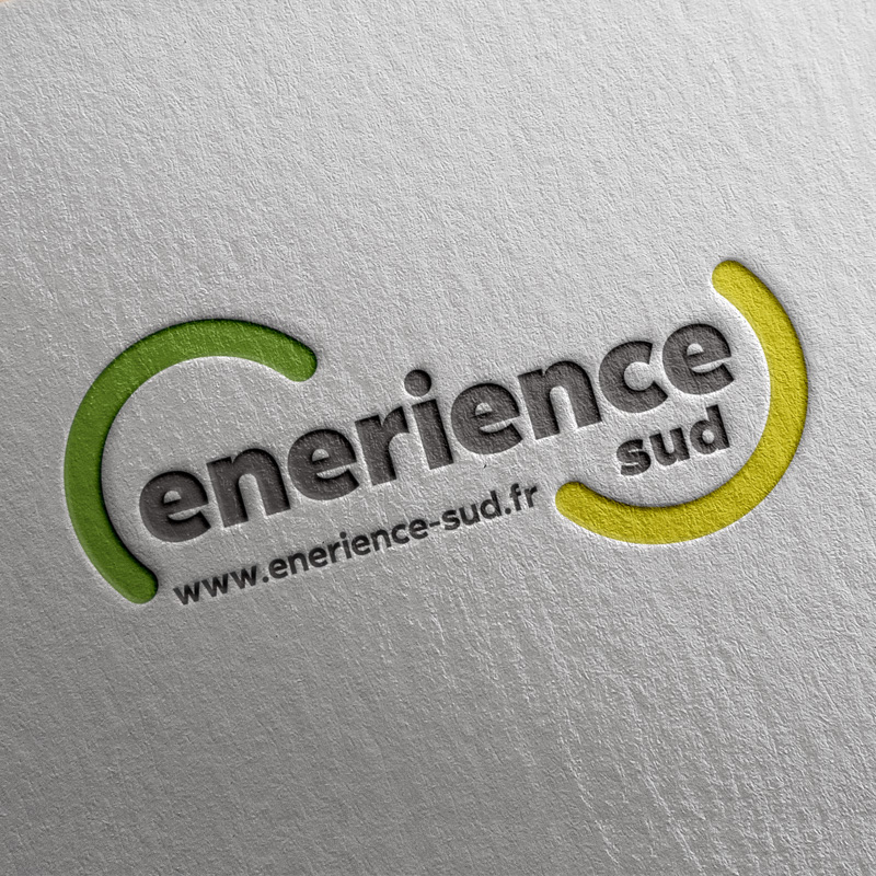 Enerience Sud Logo Identité Graphique
