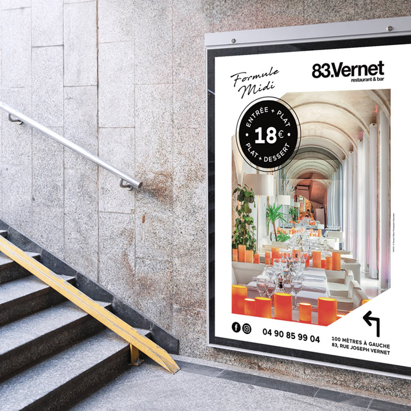 83 Vernet Avignon Affichage Parking