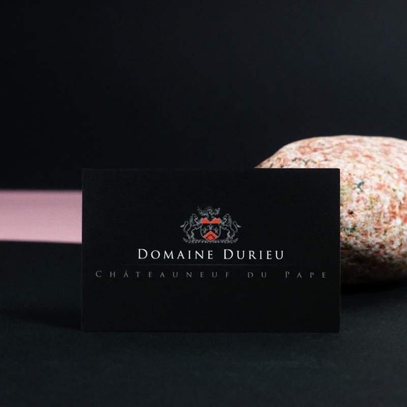 Domaine Durieu Carte de Visite