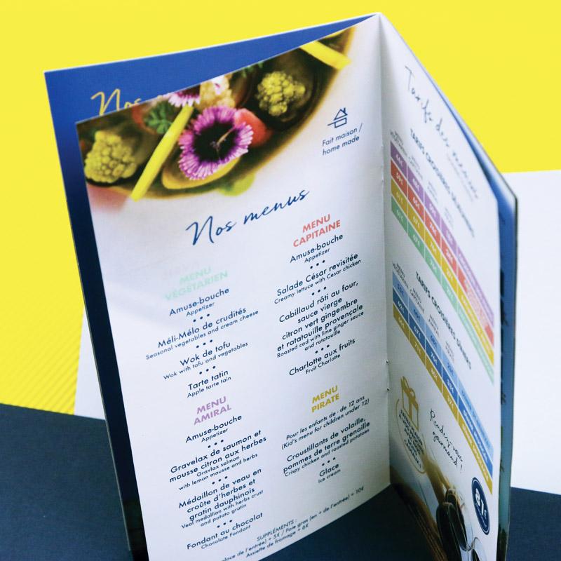 Les Grands Bateaux De Provence – Brochure commerciale 2020 – Agence Effervescence Avignon
