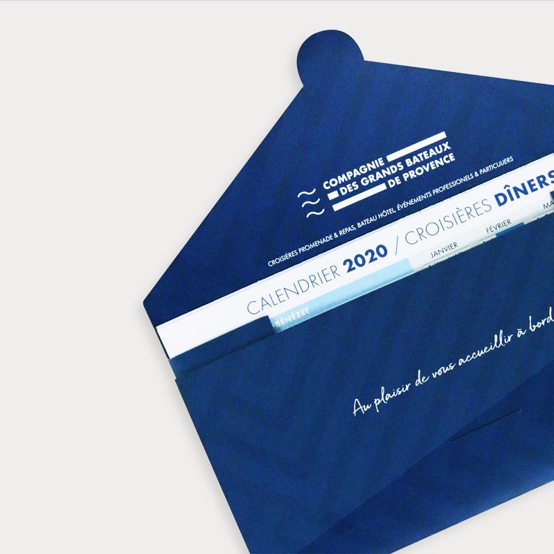 Les Grands Bateaux De Provence – Pochette Cadeau – – Agence Effervescence Avignon