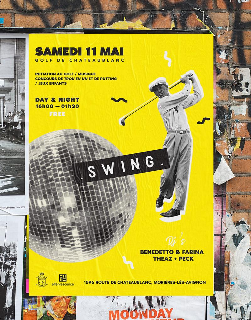 Affiche – Swing – Agence Effervescence Avignon