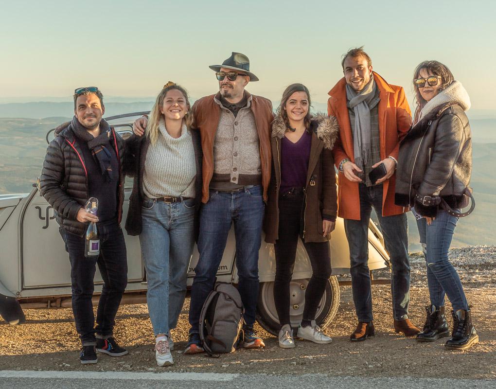 Le Fascinant Week-end AOC Ventoux  – événementiel et relation influenceurs – Agence Effervescence Avignon