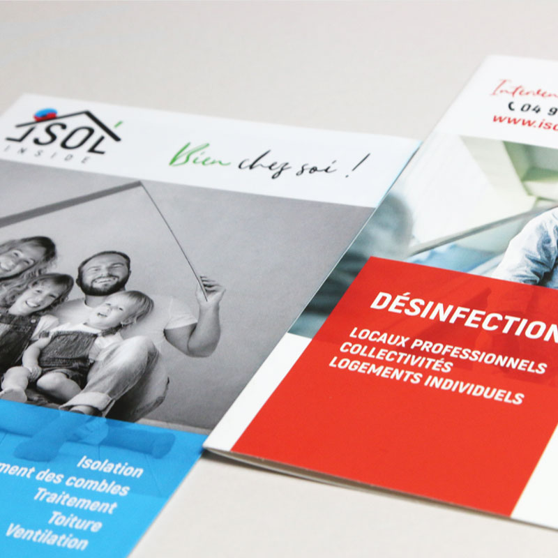 Isol'Inside – Brochure commerciale 2020 – Agence Effervescence Avignon