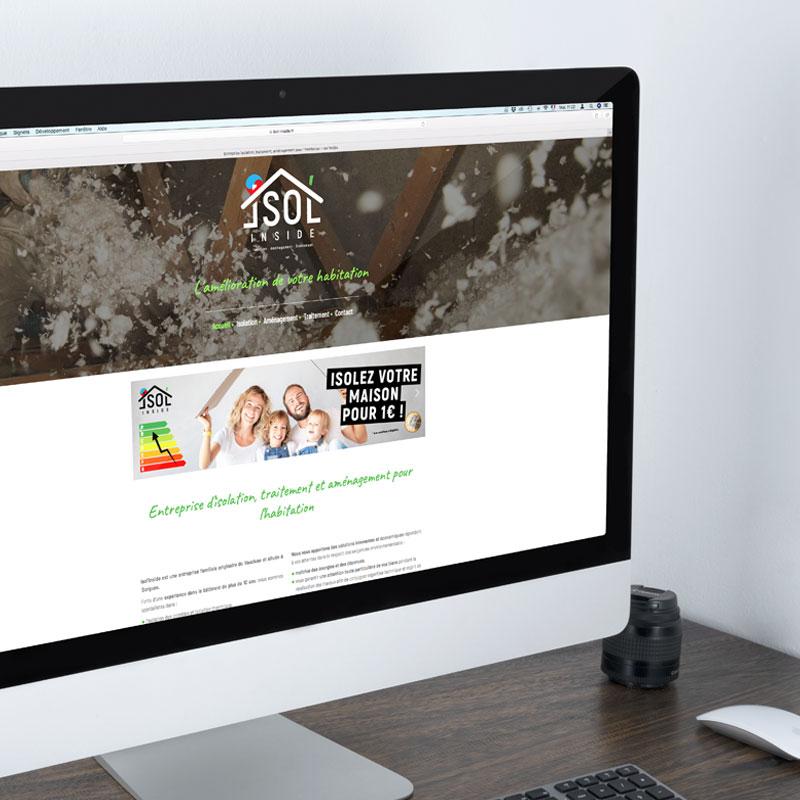 Isol'Inside – Site web