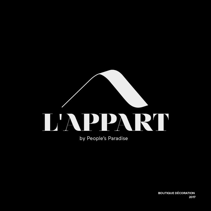 Logo – L'Appart – Agence Effervescence Avignon