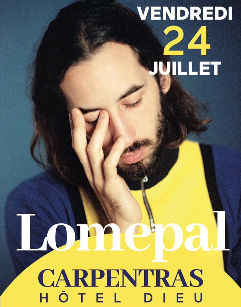 Concert Lomepal Carpentras 2020 –  Agence Effervescence Avignon