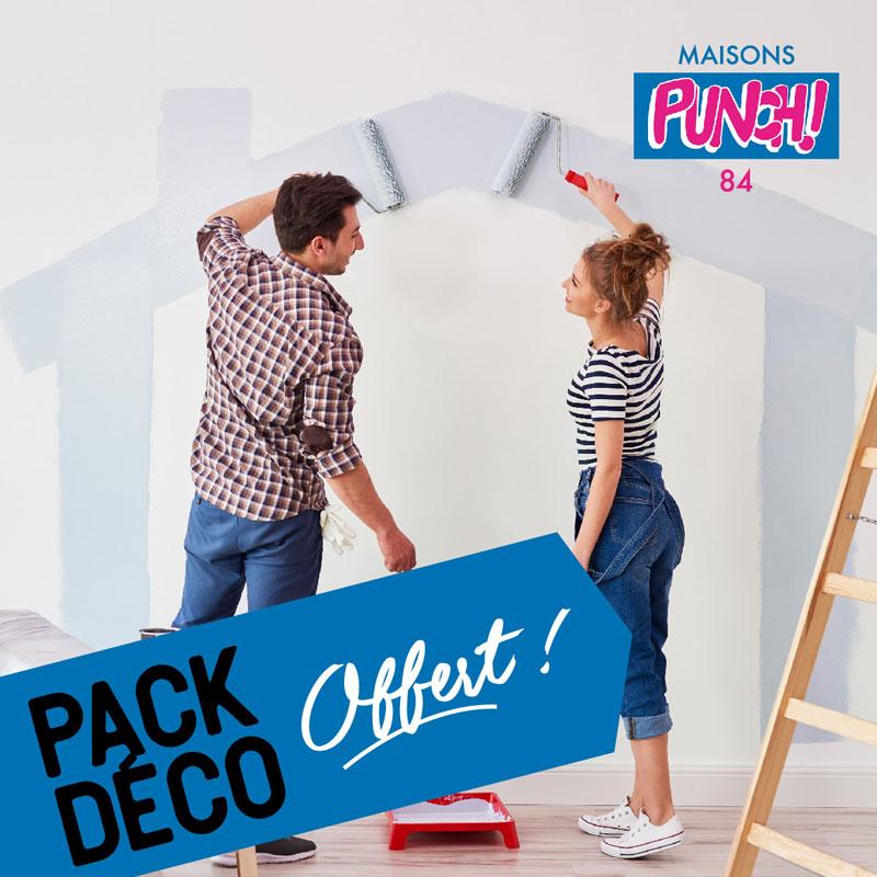 Maisons Punch – Opération Pack Déco –  Agence Effervescence Avignon