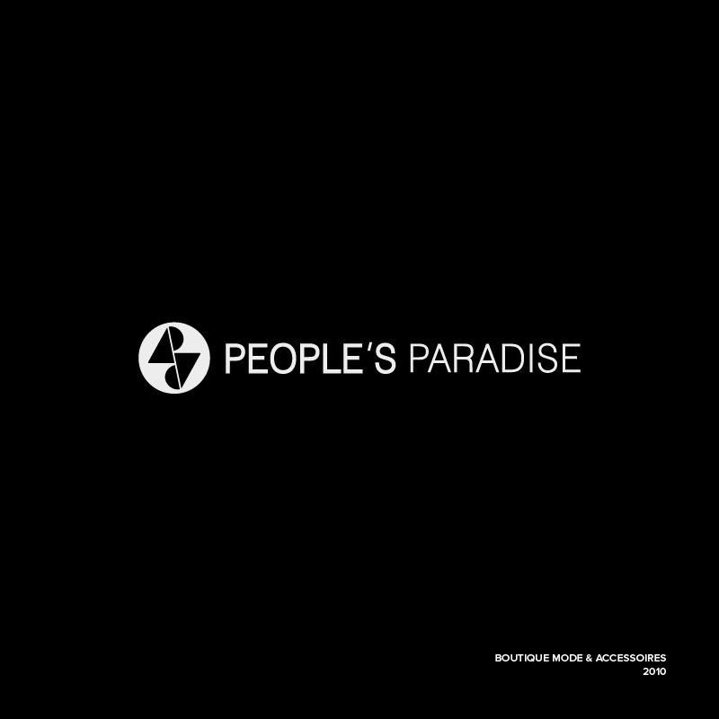 Logo – People's Paradise – Agence Effervescence Avignon