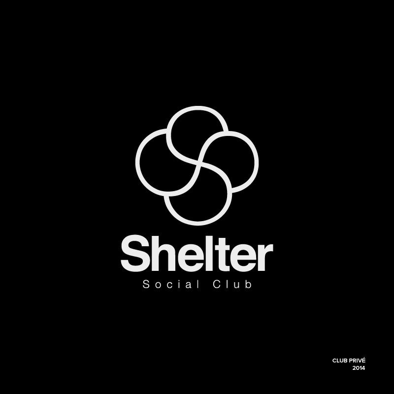 Logo – Shelter – Agence Effervescence Avignon